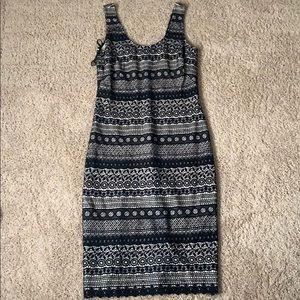 Super cute black lace tight dress